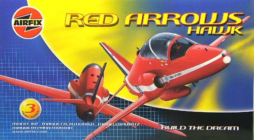 Airfix Red Arrows Hawk 1:72