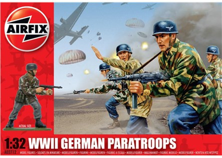 Airfix WW.II German Paratroops 1/32