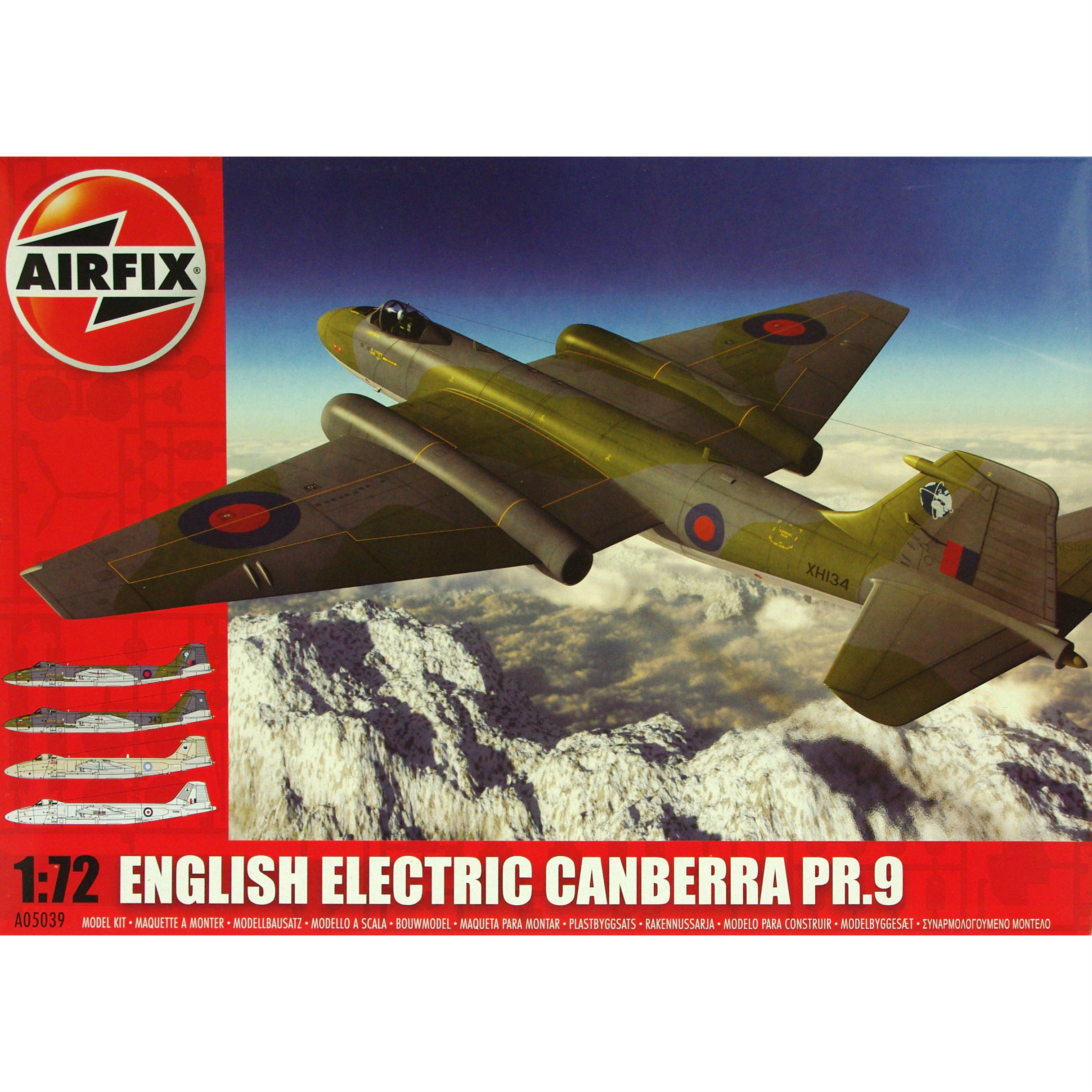Airfix English Electric Canberra PR9