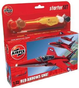 Airfix Red Arrows Gnat