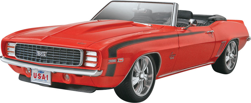 Revell 69 Camaro SS/RS Convertible 2n1