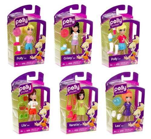 Polly Pocket- Doll Assorted
