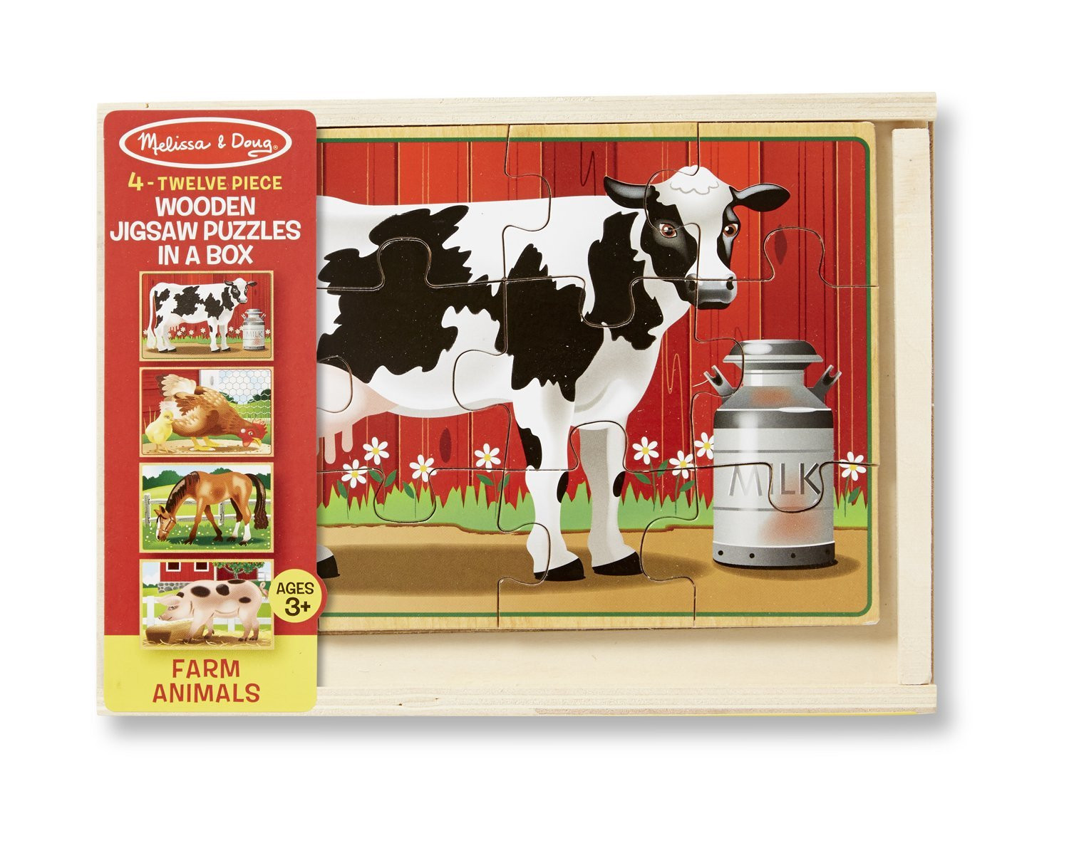 M&D - Farm Puzzles In A Box