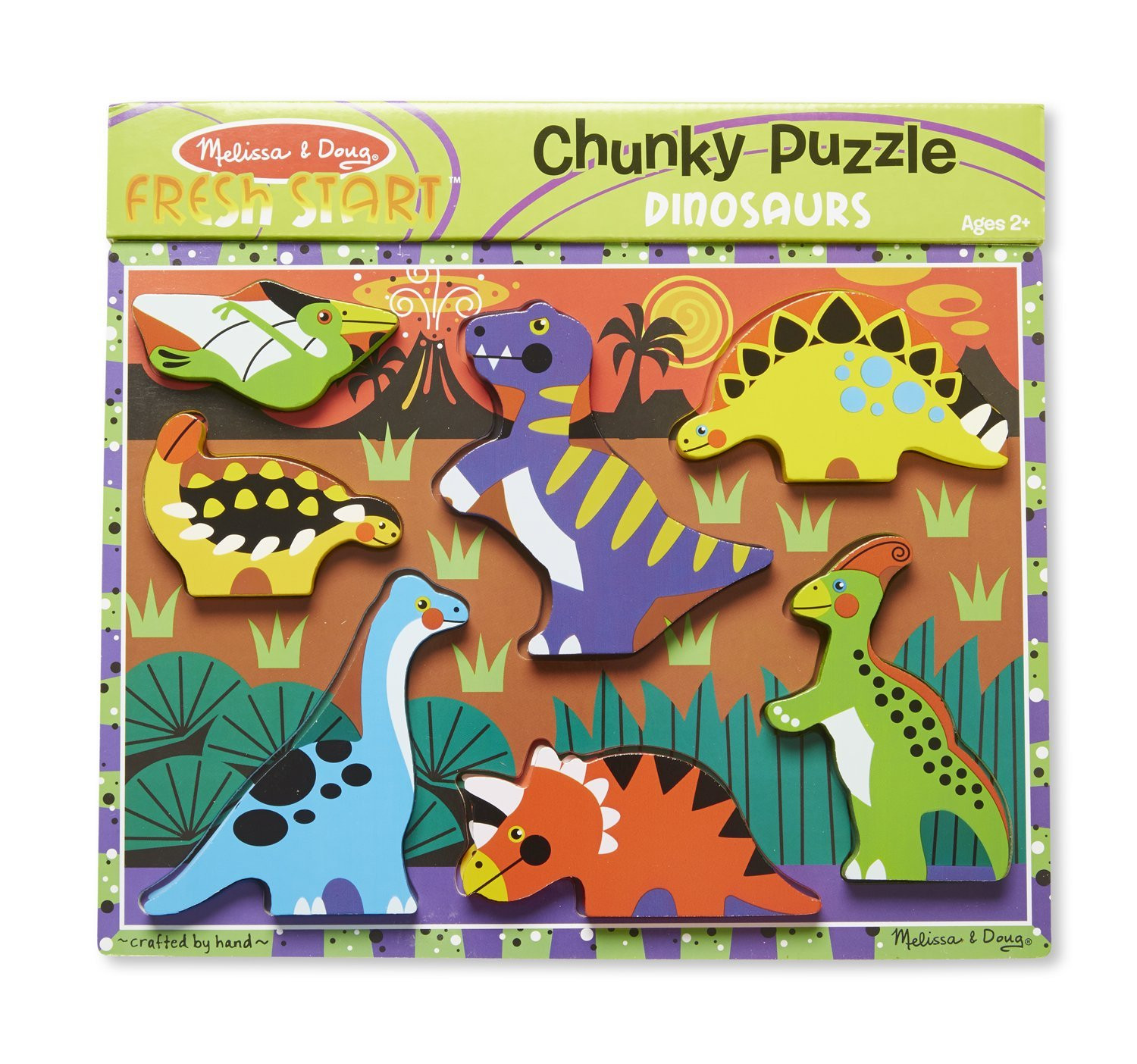 M&D - Dinosaurs Chunky Puzzle
