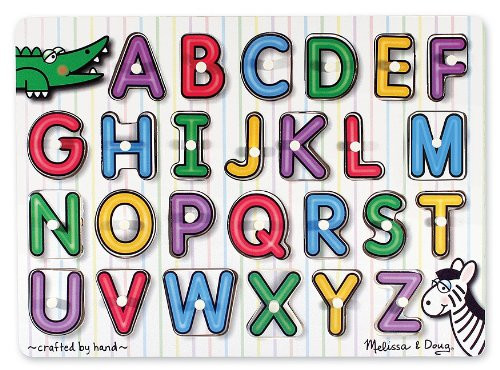 M&D - See-Inside Alphabet Peg Puzzle