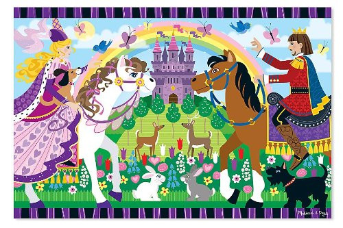 Melissa & Doug Fairy Tale Friendship Floor Puzzle 24pc
