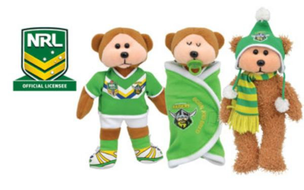 Beanie Kids Canberra Raiders 2014