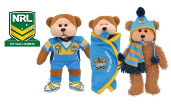 Beanie Kids Gold Coast Titans 2014