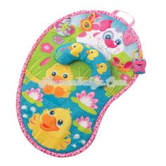 Playgro Pink Puppy Tummy Time Mat