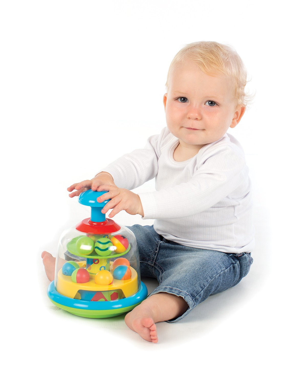 Playgro Spinning Popping Pals