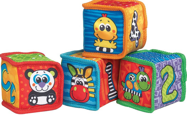 Playgro Grip and Stack Soft Blocks