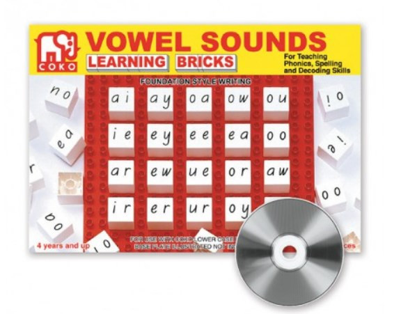 COKO Vowel Sounds 20pc