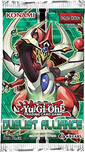 YuGiOh Duelist Alliance Trading Card Booster