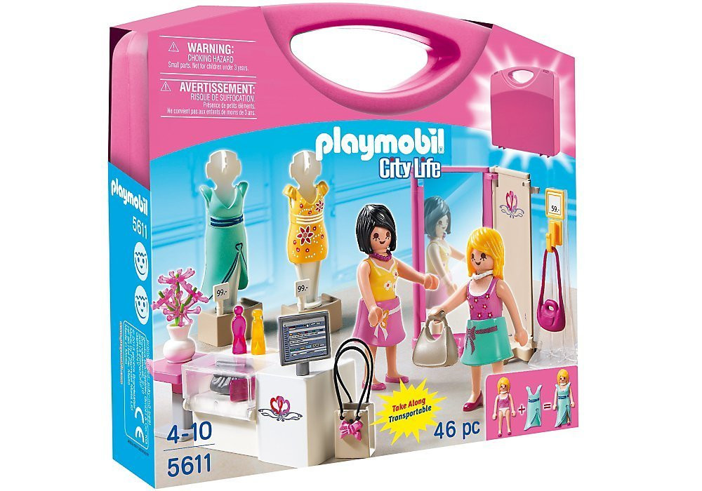 Playmobil Carrying Case Shop