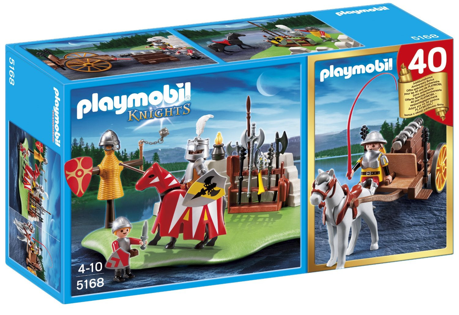 Playmobil Anniversary Compact Set Knight