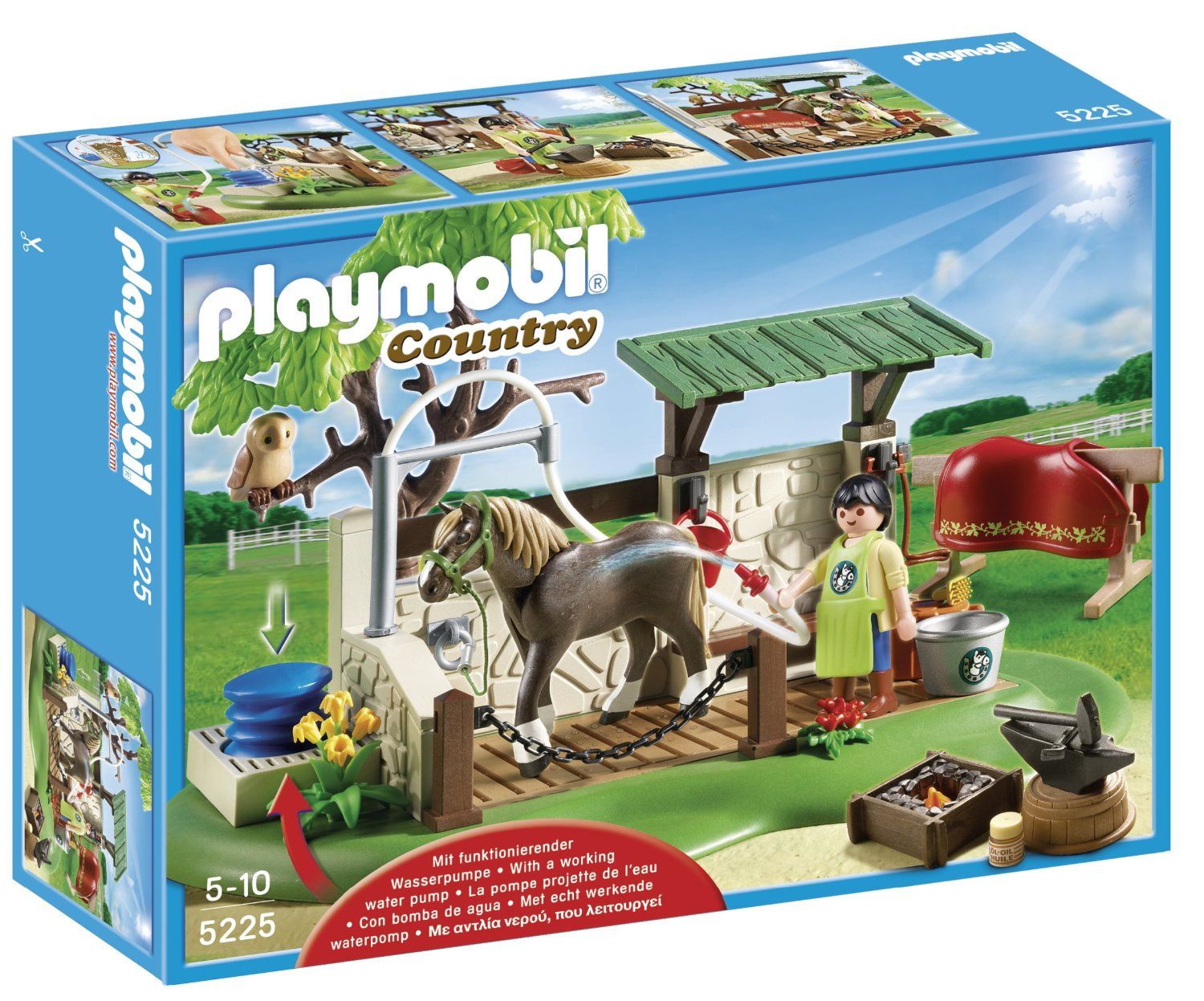 Playmobil Horse Care Station