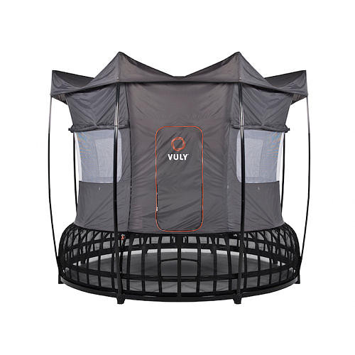 Vuly Medium Thunder Trampoline with Tent & Halo
