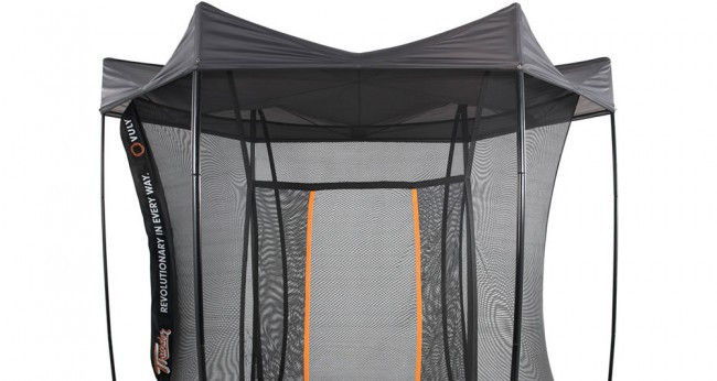 Vuly Large Thunder Trampoline with Tent & Halo
