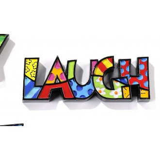Britto Mini Decor Words Laugh