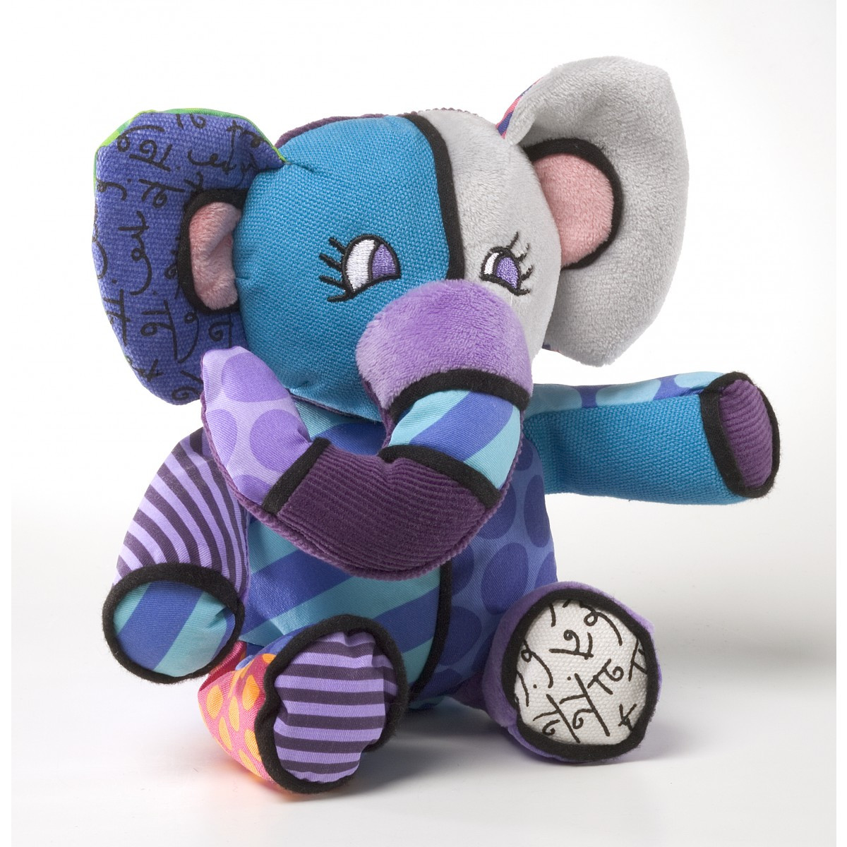 Britto Elephant Plush 19cm