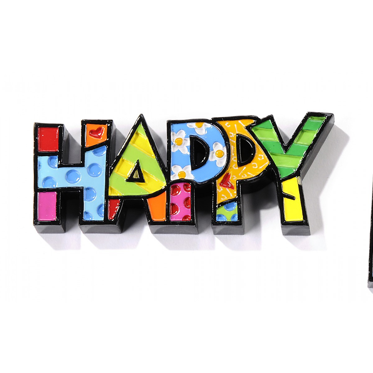 Britto Mini Decor Words Happy