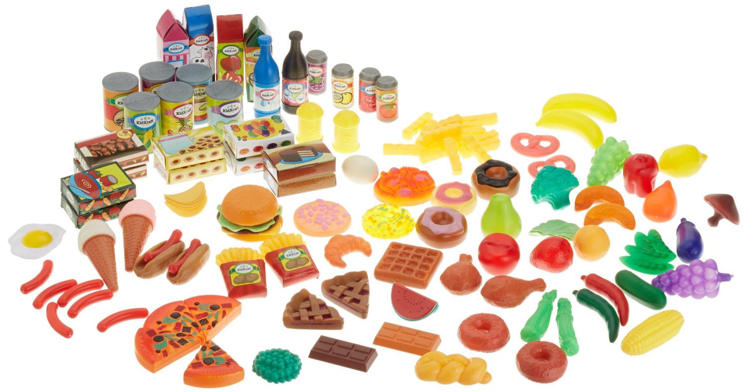 Kidkraft Tasty Treats Pretend Food 125pc- DISCONTINUED CANNOT ORDER MORE
