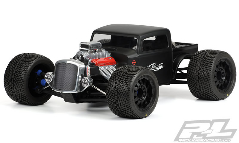 Rat Rod Clear Body For Revo 3.3 E-Revo & Summit
