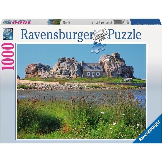 Ravensburger House in Brittany Puzzle 1000pc