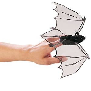 Folkmanis Mini Bat Finger Puppets