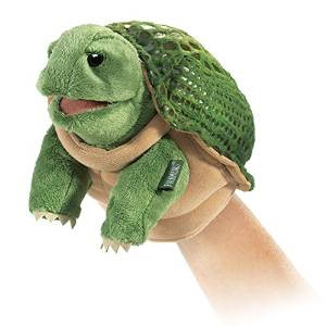 Folkmanis Little Turtle Puppet