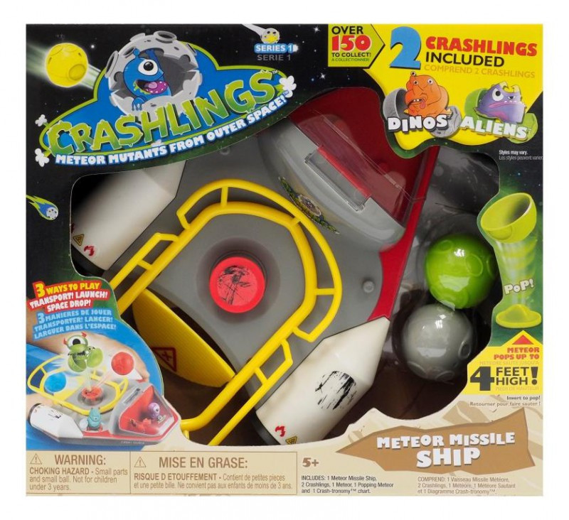 Crashlings Spaceship Playset