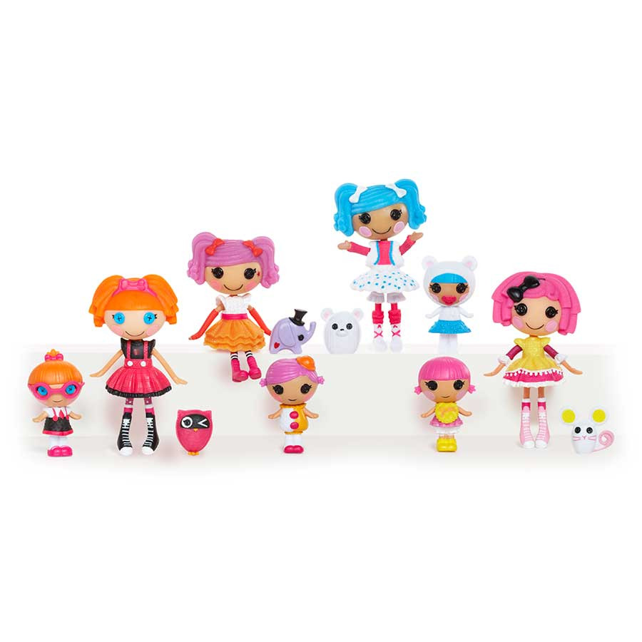 Mini Little Lalaloopsy Dolls 4 in 1 Value Pack