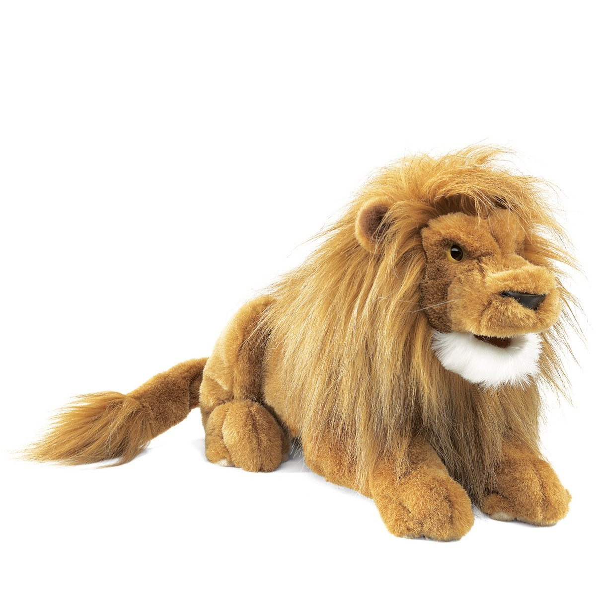 Folkmanis Large Lion Puppet 16inch