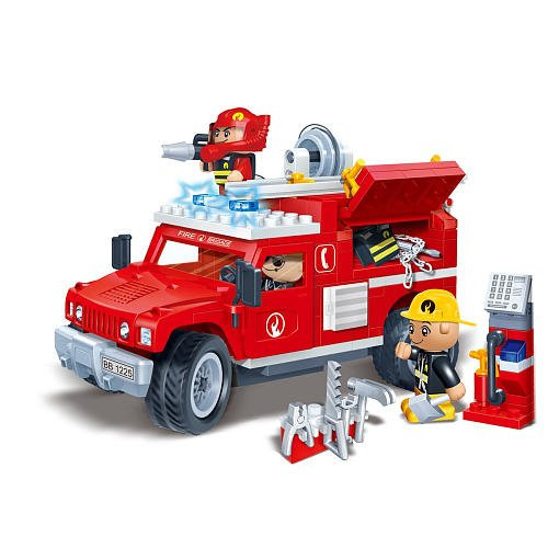 Banbao Fire Jeep 242pcs