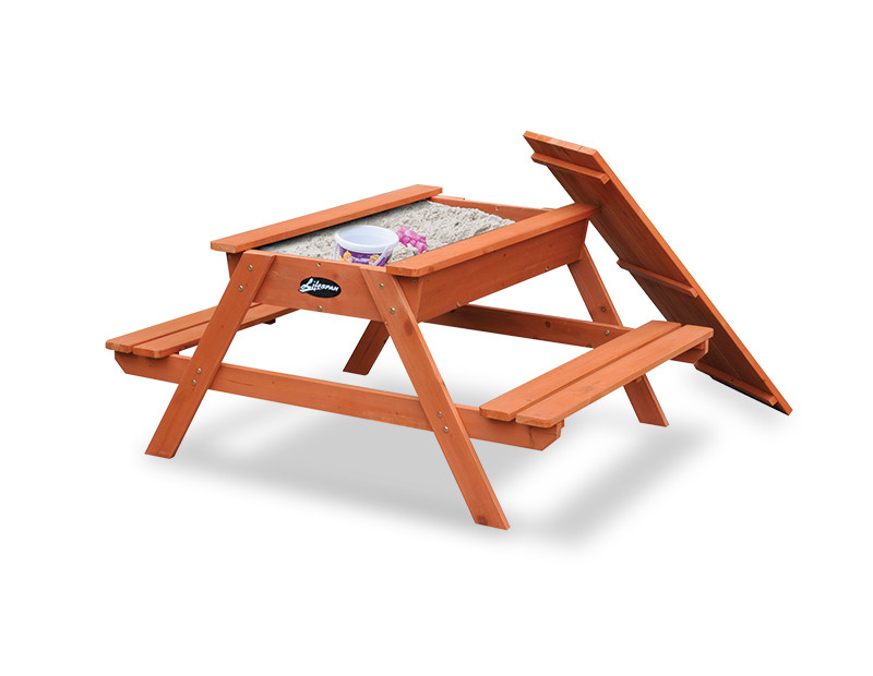 Lifespan Kids Picnic Table with Sandbox