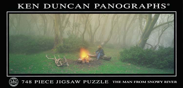 Ken Duncan Panographs The Man From Snowy River 748pc Puzzle