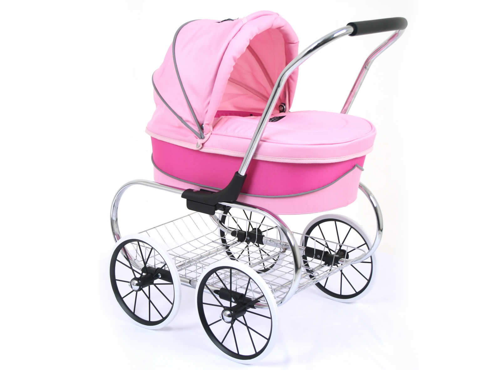 Valco Princess Doll Stroller Hot Pink