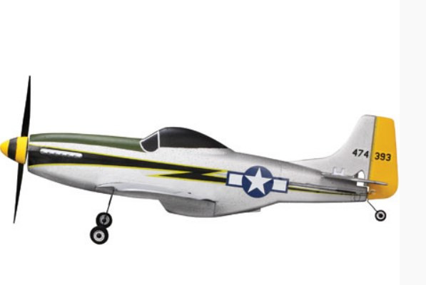 ParkZone Ultra-Micro P-51D Mustang BNF