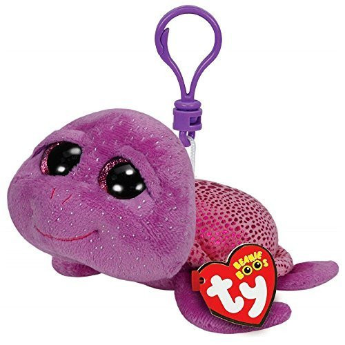Beanie Boos Clip Ons Slow-Poke the Purple Turtle