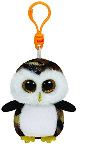 Beanie Boos Clip Ons Owliver the Camouflage Owl