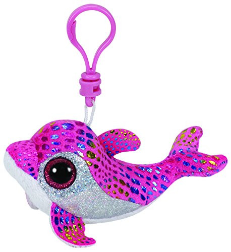 Beanie Boos Clip Ons Sparkles Pink Sparkle the Dolphin