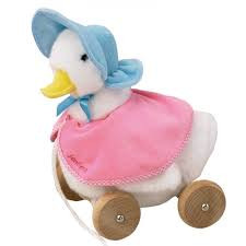 Pull Along Jemima Puddle Duck