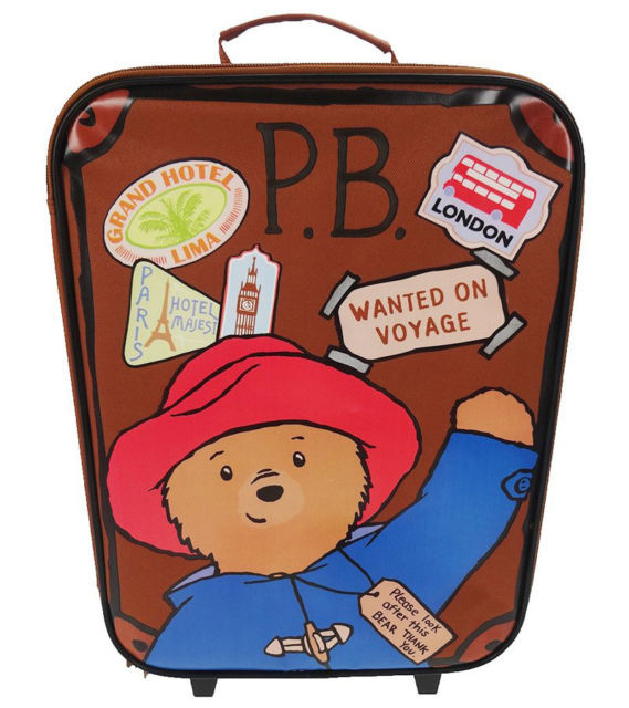 Paddington Bear Wheelie Bag