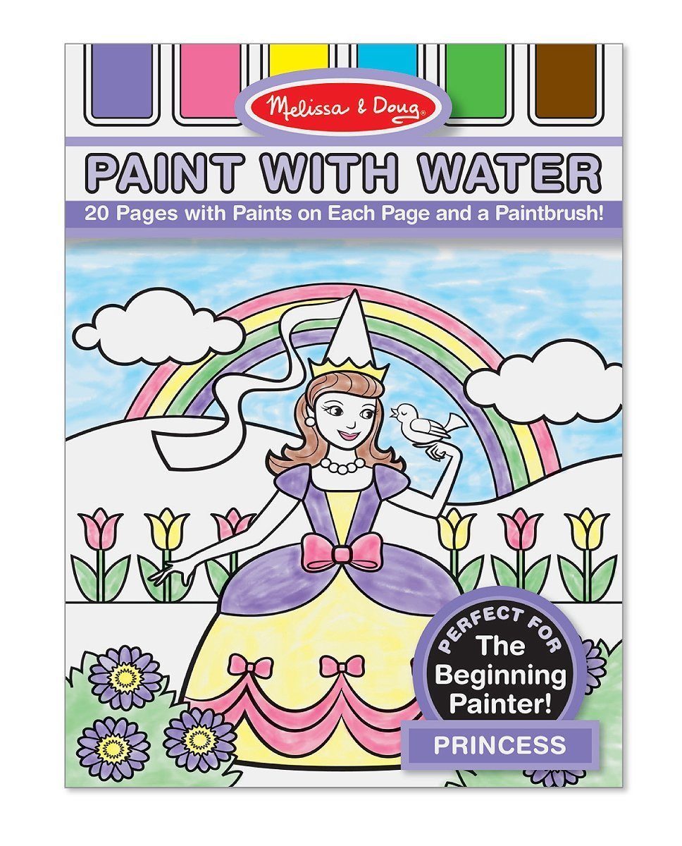 Melissa & Doug - Paint with Water - Princess