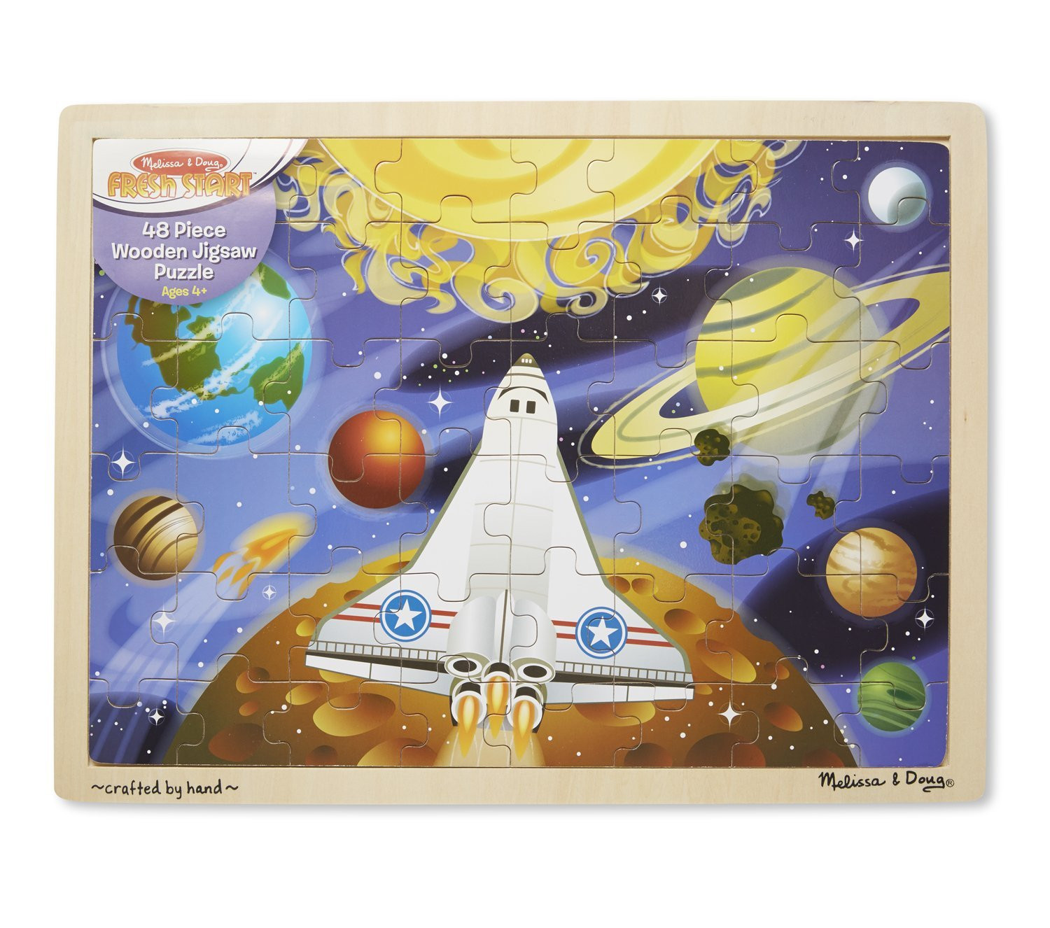 M&D - Space Voyage Jigsaw 48pc