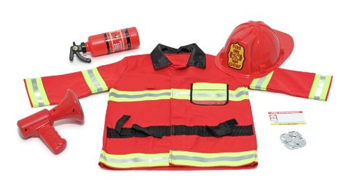 M&D - Fire Chief Role Play Costume Set