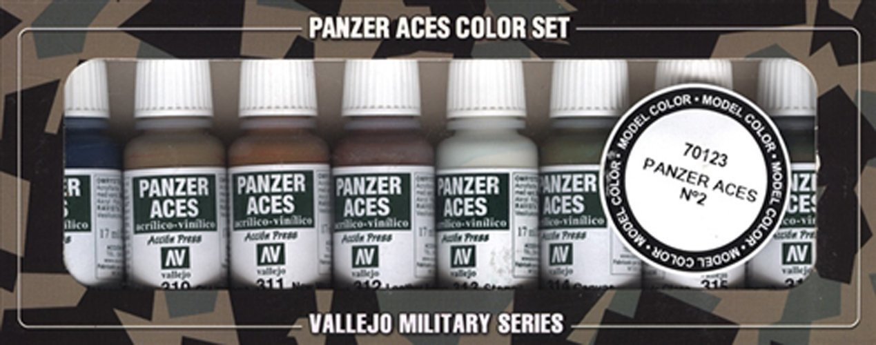 Vallejo Model Color Set Panzer Aces No2