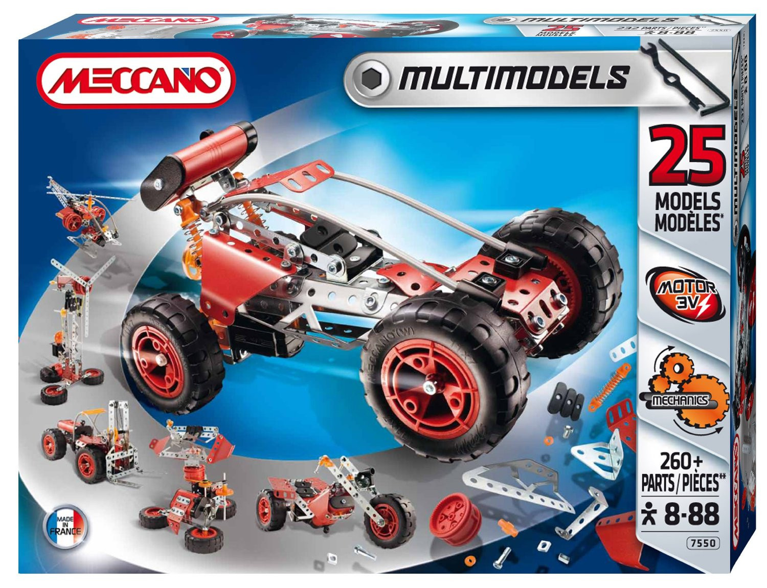 Meccano Multi 25 Model Set