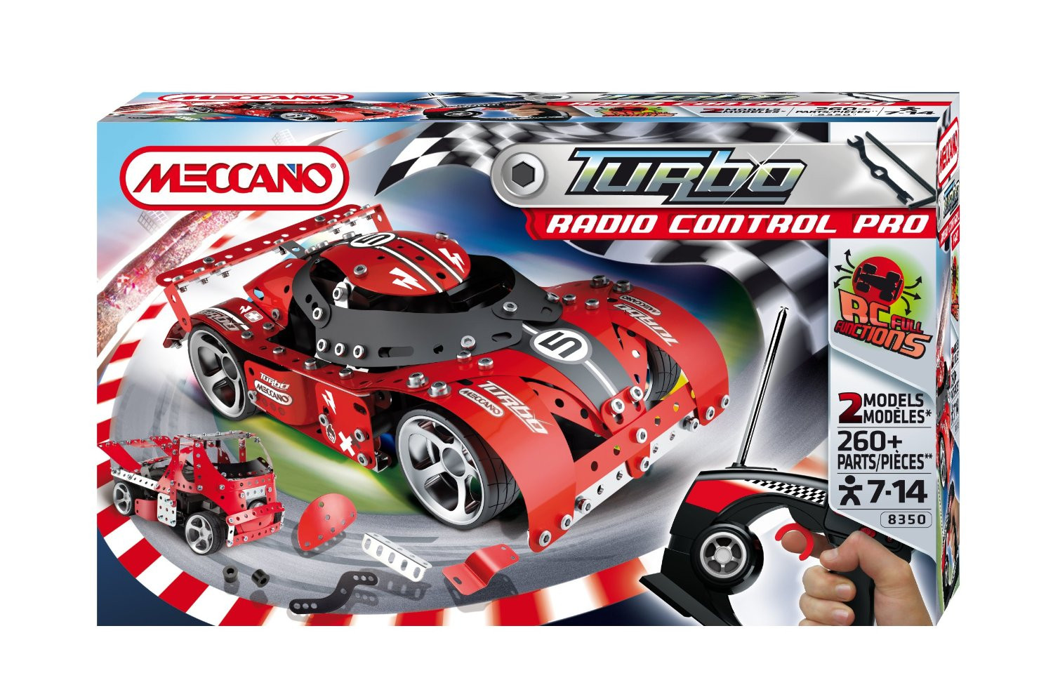 Meccano Turbo RC Pro Car