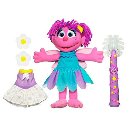 Sesame Street Easy to Dress Abby with Wand